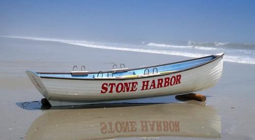 Stone Harbor Beach Patrol Boat